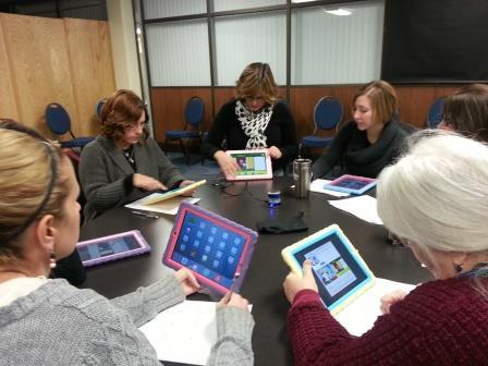 SLP iPad group
