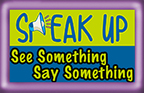Students can text SPEAKUP plus their tip to CRIMES(274637)