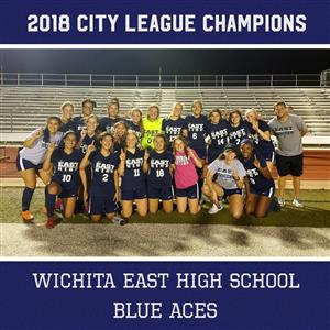 East Girls Soccer City League Champions