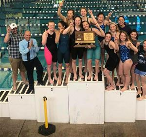 Girls Swimming State Champs