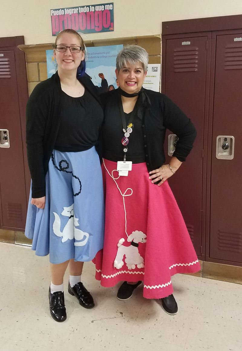 Through the decades during Spirit Week