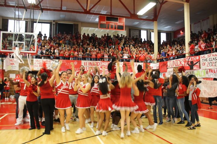 First pep assembly sets tone