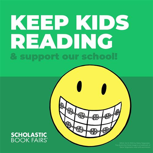 Smiley Keep kids reading