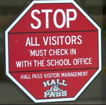 Hall Pass Visitor Management