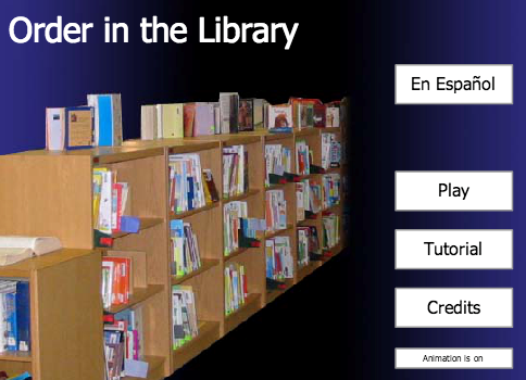 Order in The Library Training