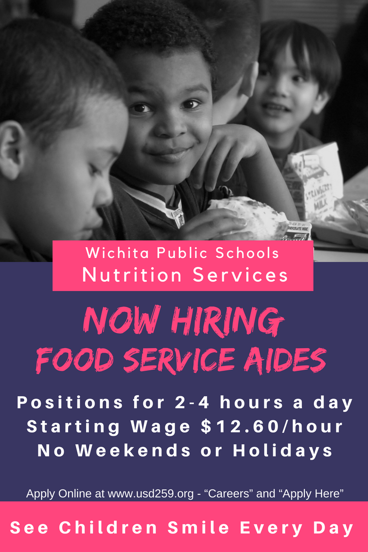 Now Hiring Food Services Aids