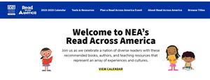 Banner for Read Across America Website
