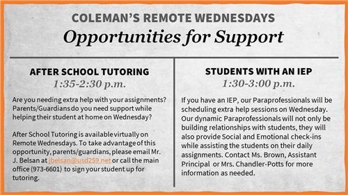 Remote Wednesday opportunities