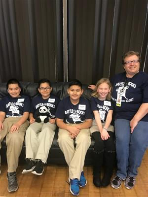 Picture of Battle of the Books Team 2018