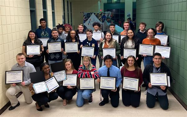 High School students receive CTE Pathway Awards