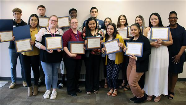 Sixteen WPS students received scholarships from the Assistance League of Wichita