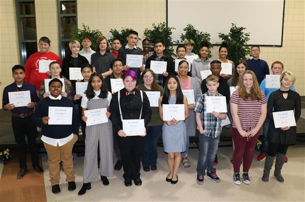 Thirty students recognized with 99% Awards