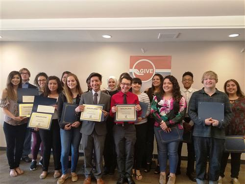 Students recognized during Assistance League luncheon
