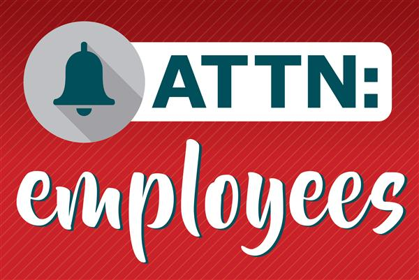 Employee information for Fall Break, November 23 - 27