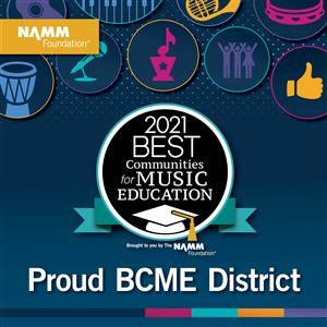 Best Communities in Music Education 2021 graphic