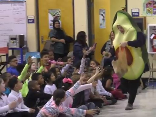 Buckner students get a fun lesson in healthy eating