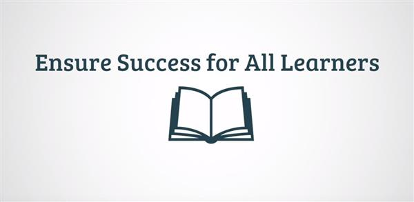 Ensure Success For All Learners logo