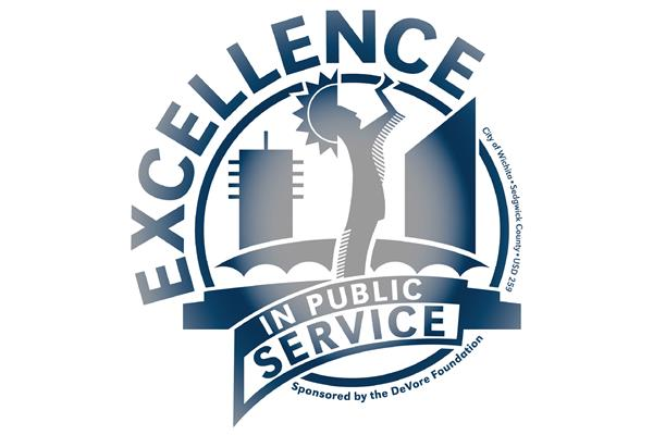 Excellence in Public Service Award logo