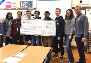 East High School received a $5,000 grant from the Wichita Community Foundation.