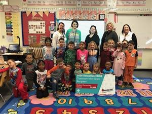 Enders Magnet Elementary reading teacher Kellie Miller received a $3,000 Education EDGE grant