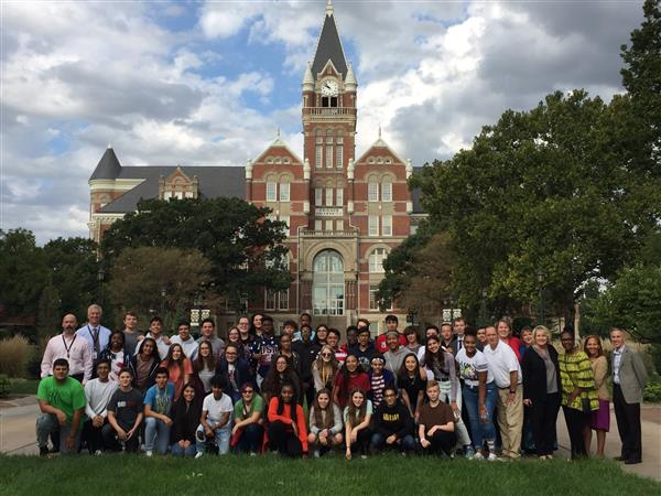Early College Academy students visit Friends University