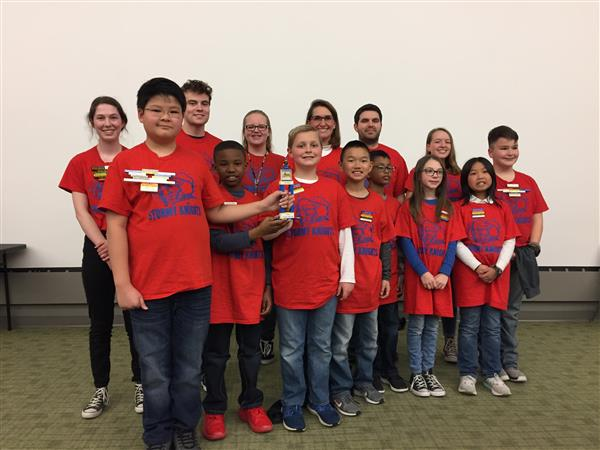 Eight WPS schools compete in Shocker Mindstorms Challenge