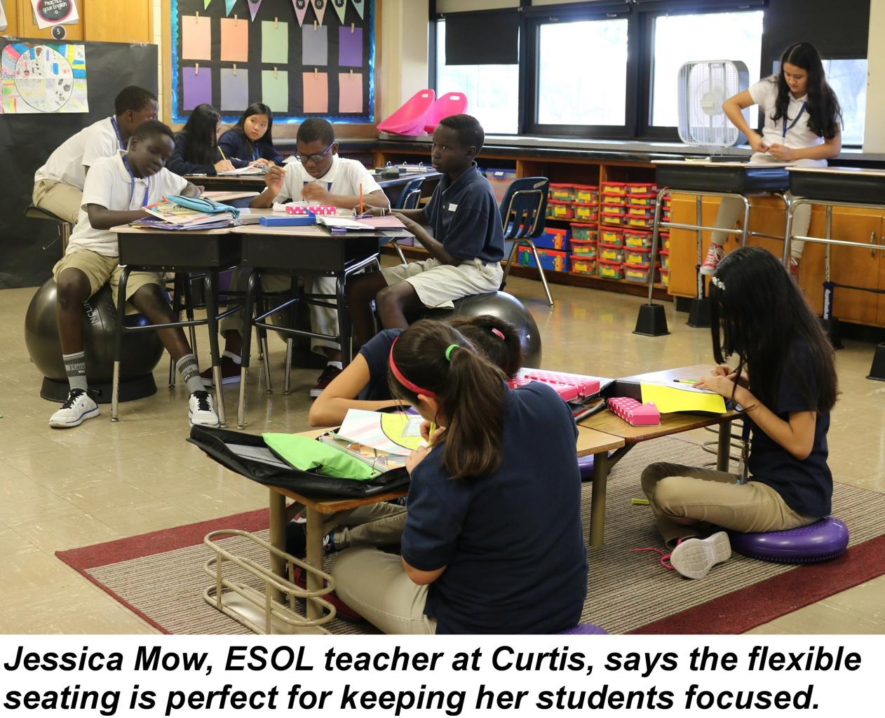 Many Classrooms Use Flexible Seating To Engage Students