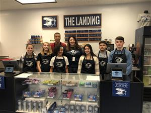 DECA students will run The Landing coffee and retail shop at East High School