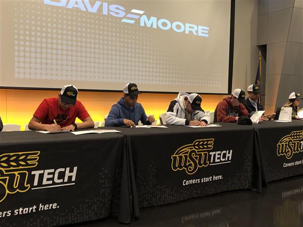 WSU Tech signing day