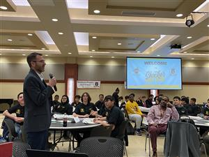 More than 100 high school students attended a kick-off event for the high school BAASE program at WSU.