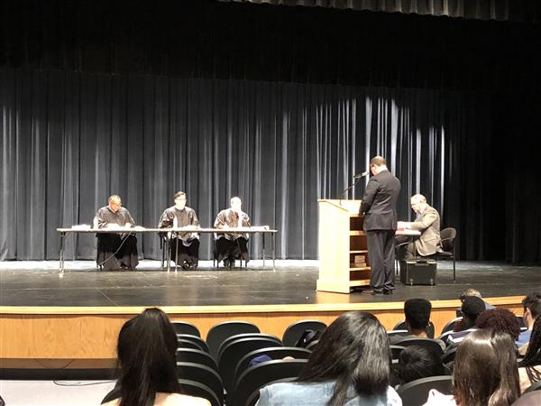Kansas Court of Appeals hears oral arguments at Northeast Magnet High School