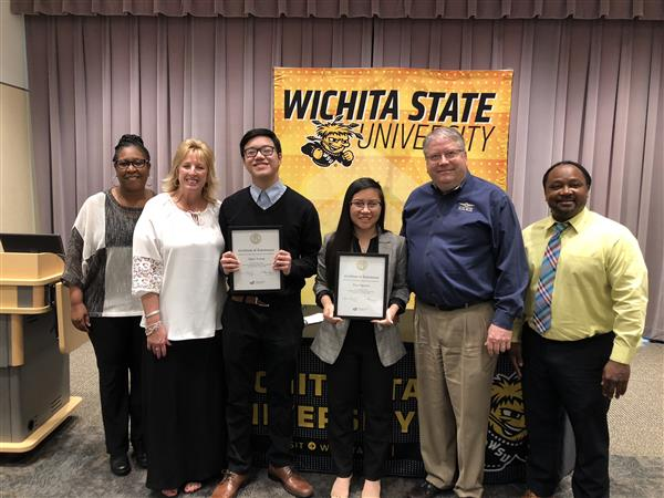 East, South seniors awarded Wichita State Scholarships