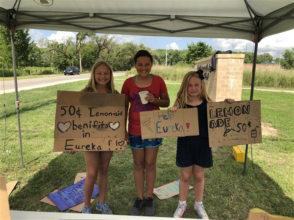 Earhart summer latchkey program raises funds for tornado victims
