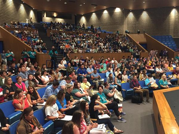 New Staff Orientation welcomes more than 500 new teachers and staff