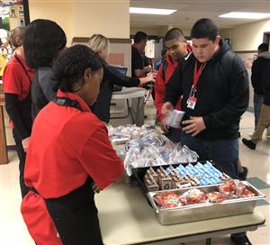 Second chance breakfast program at North High School