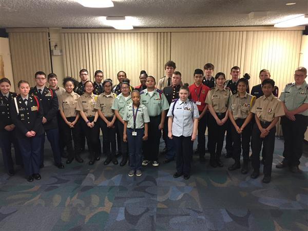 Cadets share success stories at Superintendent's Breakfast