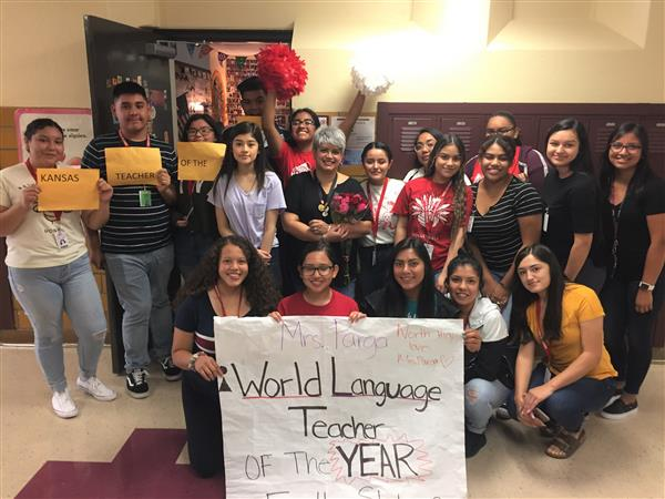 Jennifer Parga, World Language Teacher of the Year