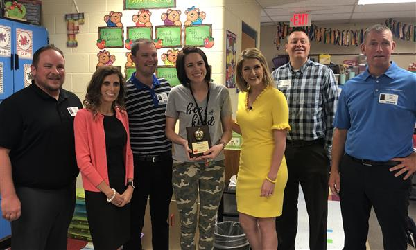 KAKE Golden Apple winner Jessica Fuchs