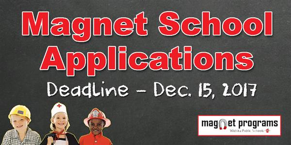 2018-19 magnet school applications available online