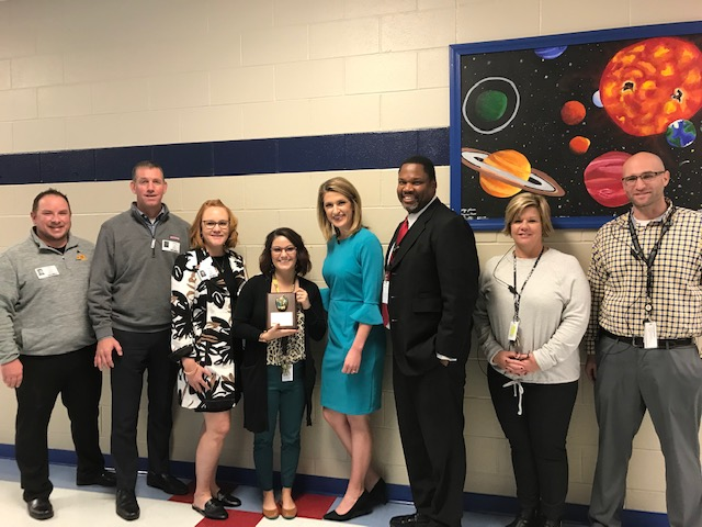 KAKE Golden Apple Award winner Melissa Means