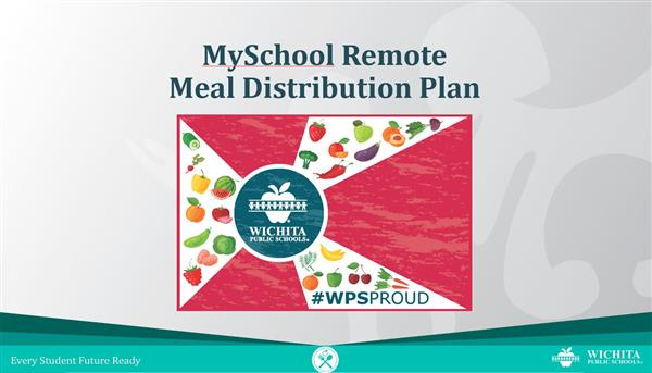 MySchool Remote meal distribution plan