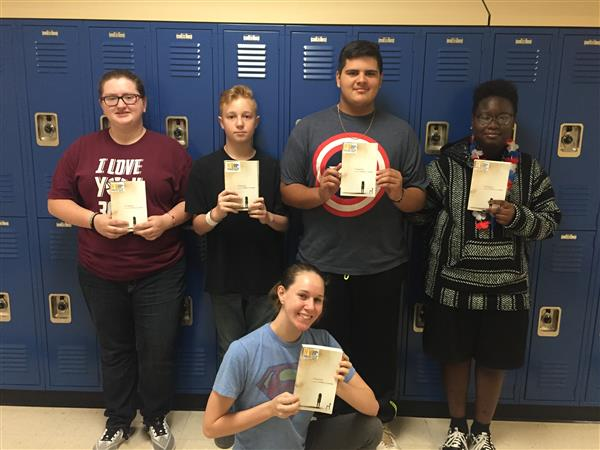 Northwest High School's Project LIT book club