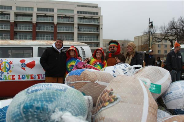 WPS collects thousands for Turkey Drive