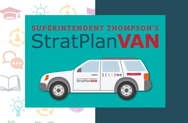 Video: Dr. Thompson's Strat Plan Van makes first visit