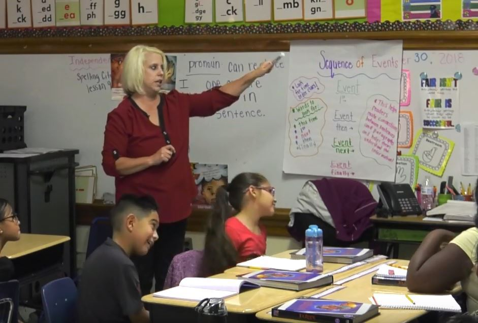 Video: Profile on Susan Crum, 3rd grade teacher at Gardiner