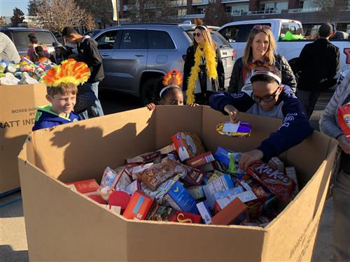 WPS collects thousands of items for Turkey Drive