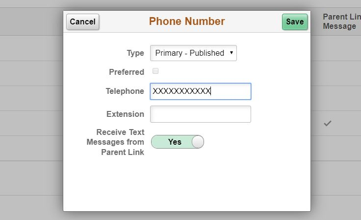 Employees can receive emergency text notifications by giving permission in PeopleSoft