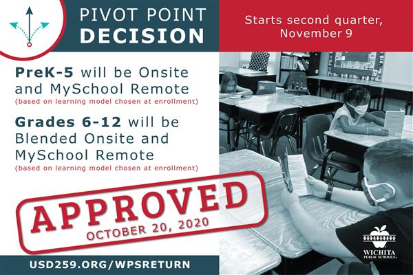 Pivot point for second nine weeks of school year