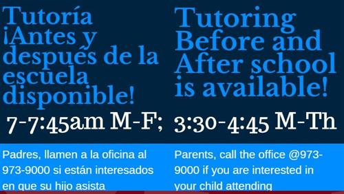 Marshall Tutoring Help Available
