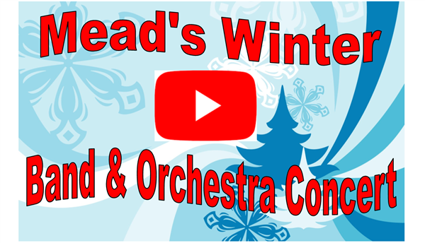 Mead's Winter Band and Orchestra Concert